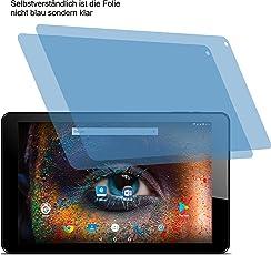 2x Crystal clear klar Schutzfolie für Odys Falcon 10 Plus 3G Displayschutzfolie Bildschirmschutzfolie Schutzhülle Displayschutz Displayfolie Folie