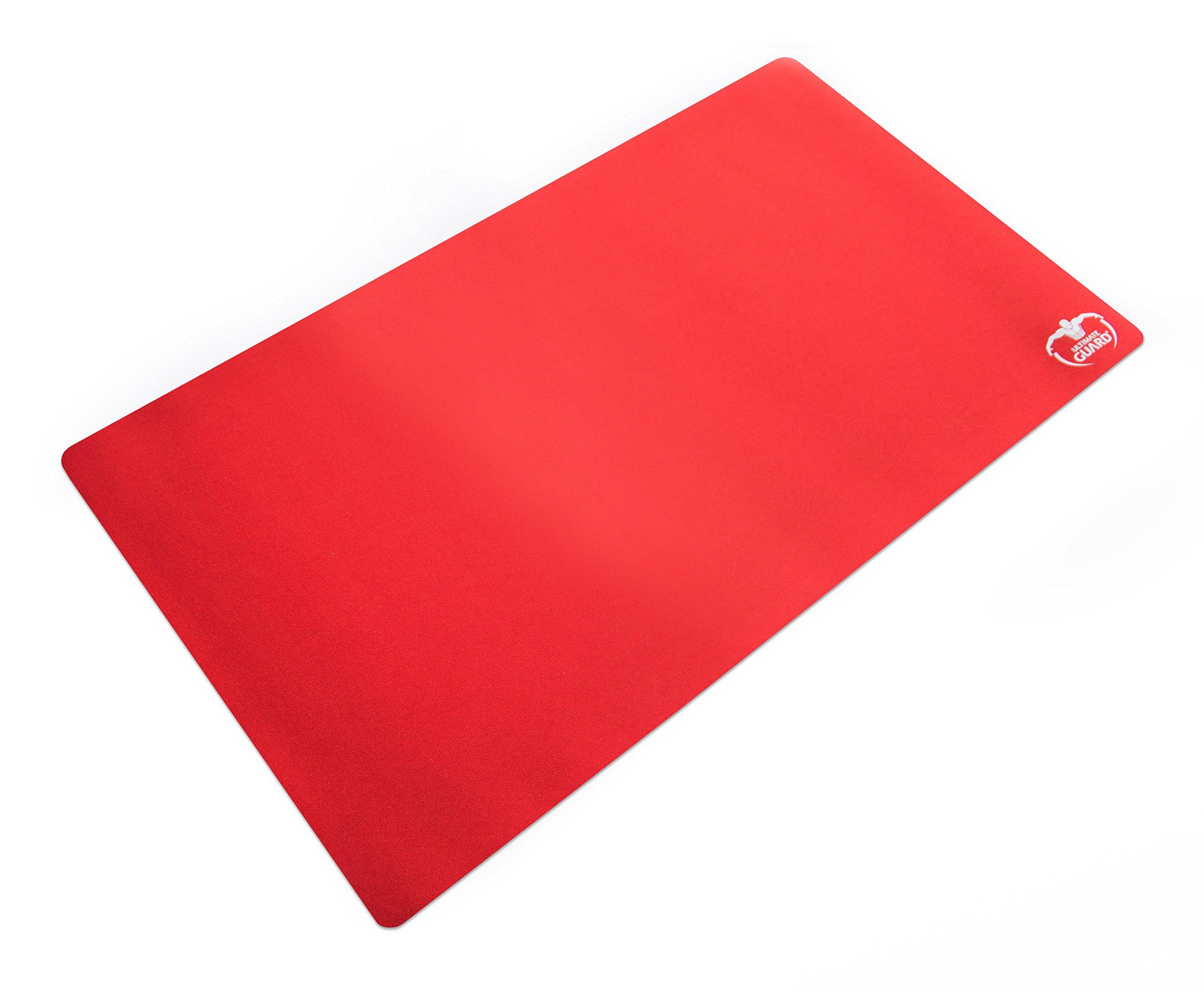 Ultimate-Guard-UGD010196-Spielmatte-Monochrome-61-x-35-cm-rot