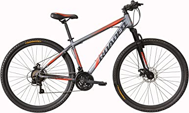 Hercules Roadeo Fugitive 29T 21 Gear Steel Hybrid Cycle (Matt Grey) 15.5inch Frame