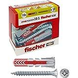 Fischer Duopower Pluggen met schroef, grijs, 544018