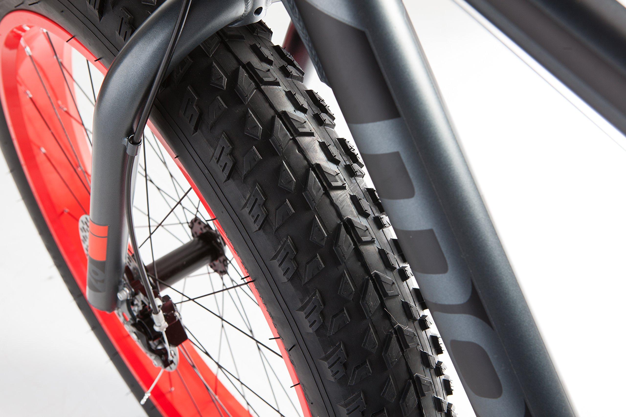 MOMA Bikes Fat Bike Alluminio Shimano 21 V