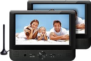 Odys Megaro Plus Tragbarer DVD-Player/TV mit zusätzlichem