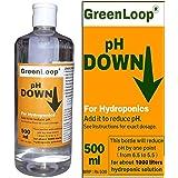 GreenLoop pH Down, Hydroponic pH Adjuster to Reduce pH, 500ml