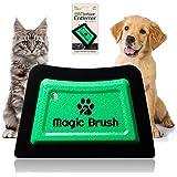 WERCH® Magic Brush urządzenie do usuwania sierści zwierząt z psa, kota, szczotka do usuwania sierści zwierząt z sofy, łóżka i