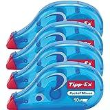 4er Sparpack Tippex 7500 Pocket Mouse Korrekturroller