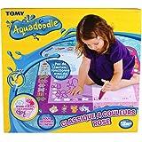 TOMY - Tapis Aquadoodle Classique 4 Couleurs Rose, Tapis de Dessin à Eau, Coloriage Géant, Tapis d'Éveil, Cadeau de Noël Adap