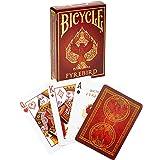 Bicycle Fyrebird Koleksiyoner iskambil Oyun Kağıdı Kartları