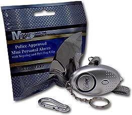EPOSGEAR Schlüsselanhänger, Taschenlampe und Mini Alarm mit 140db Sirene