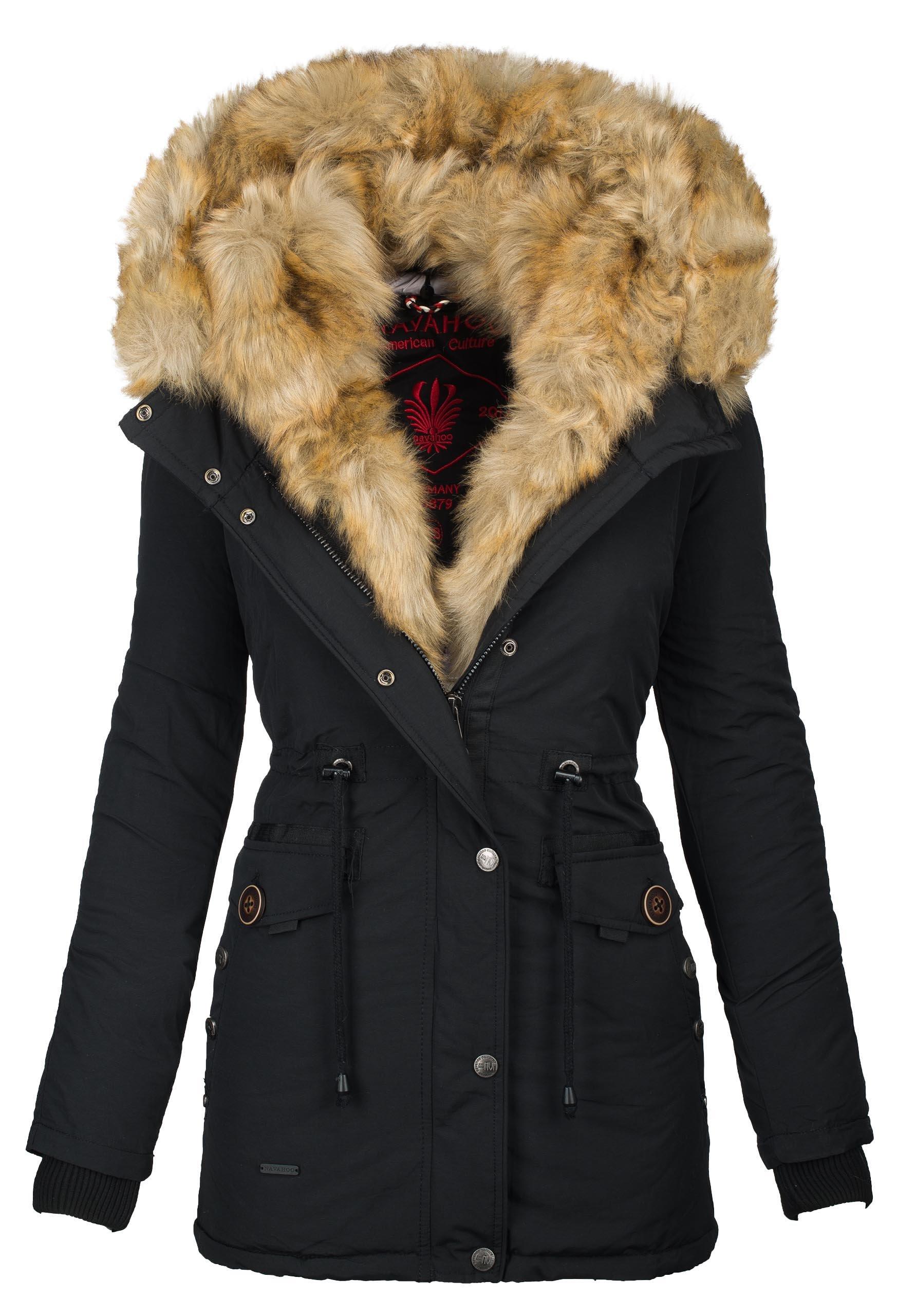 newest collection 4e33c d2446 Navahoo 2in1 Damen Winter Jacke Parka Mantel Winterjacke warm Fell B365