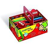 Giotto be-bè Superpastelloni Cera Schoolpack 40 pz Superpastelloni cera + 2 temperamatite