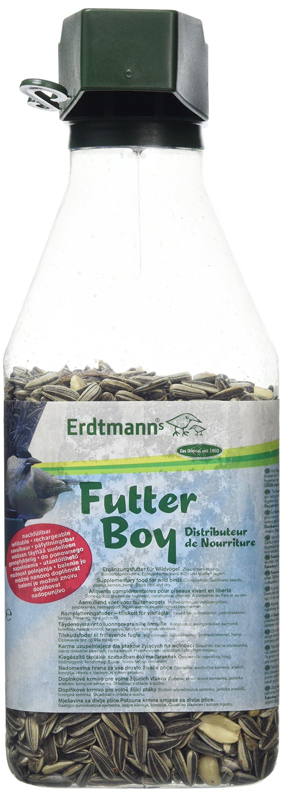 Erdtmann Futterboy Filled Seed Dispenser, 500 g