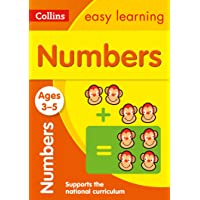 Numbers Ages 3-5: Prepare for Preschool with…