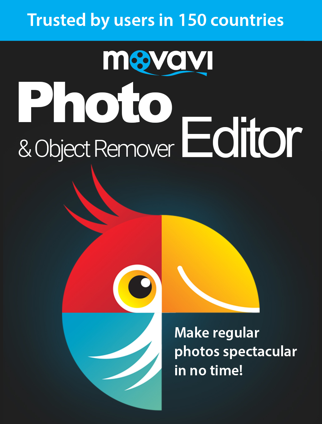 Movavi Photo Editor & Object Remover 3 Persönliche Lizenz [Download] (Pc-remover-software)