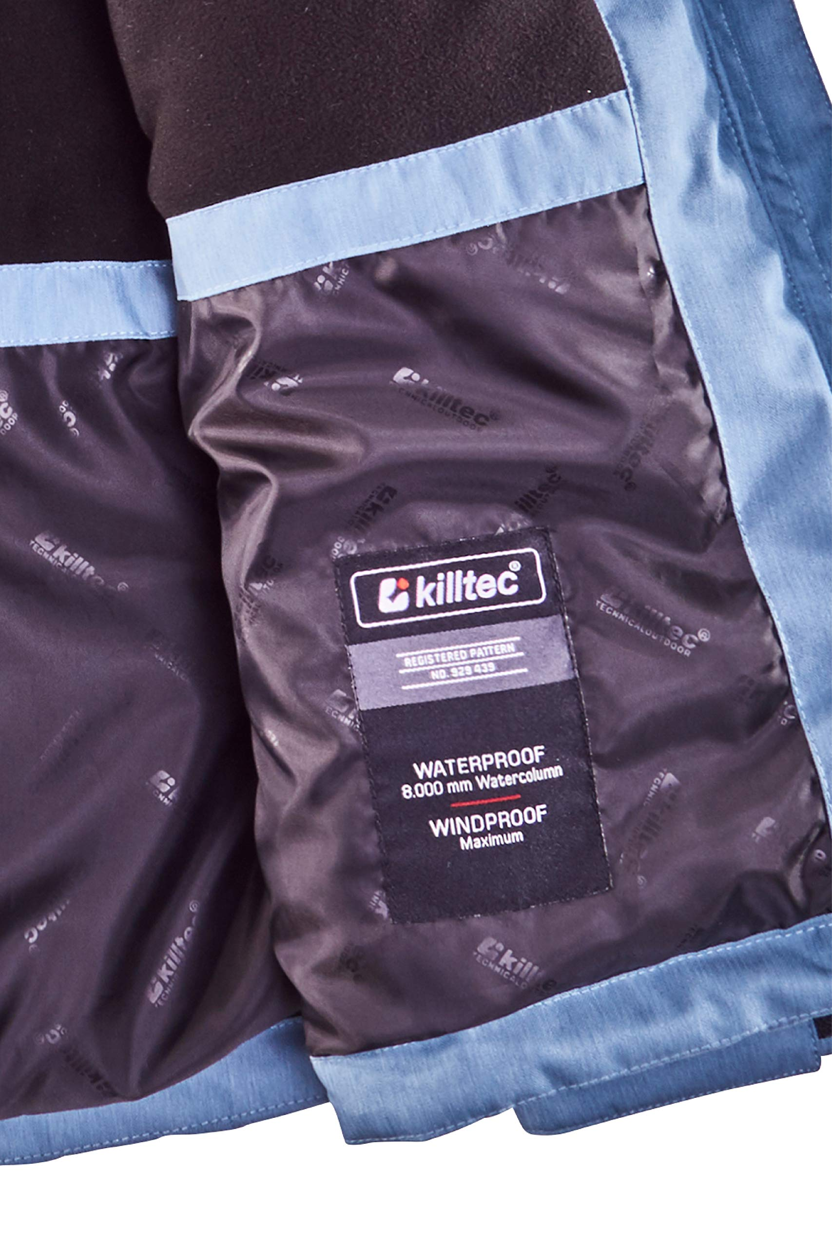 816UEQgYTmL - killtec Women's Zala Functional Jacket with Zip-Off Hood