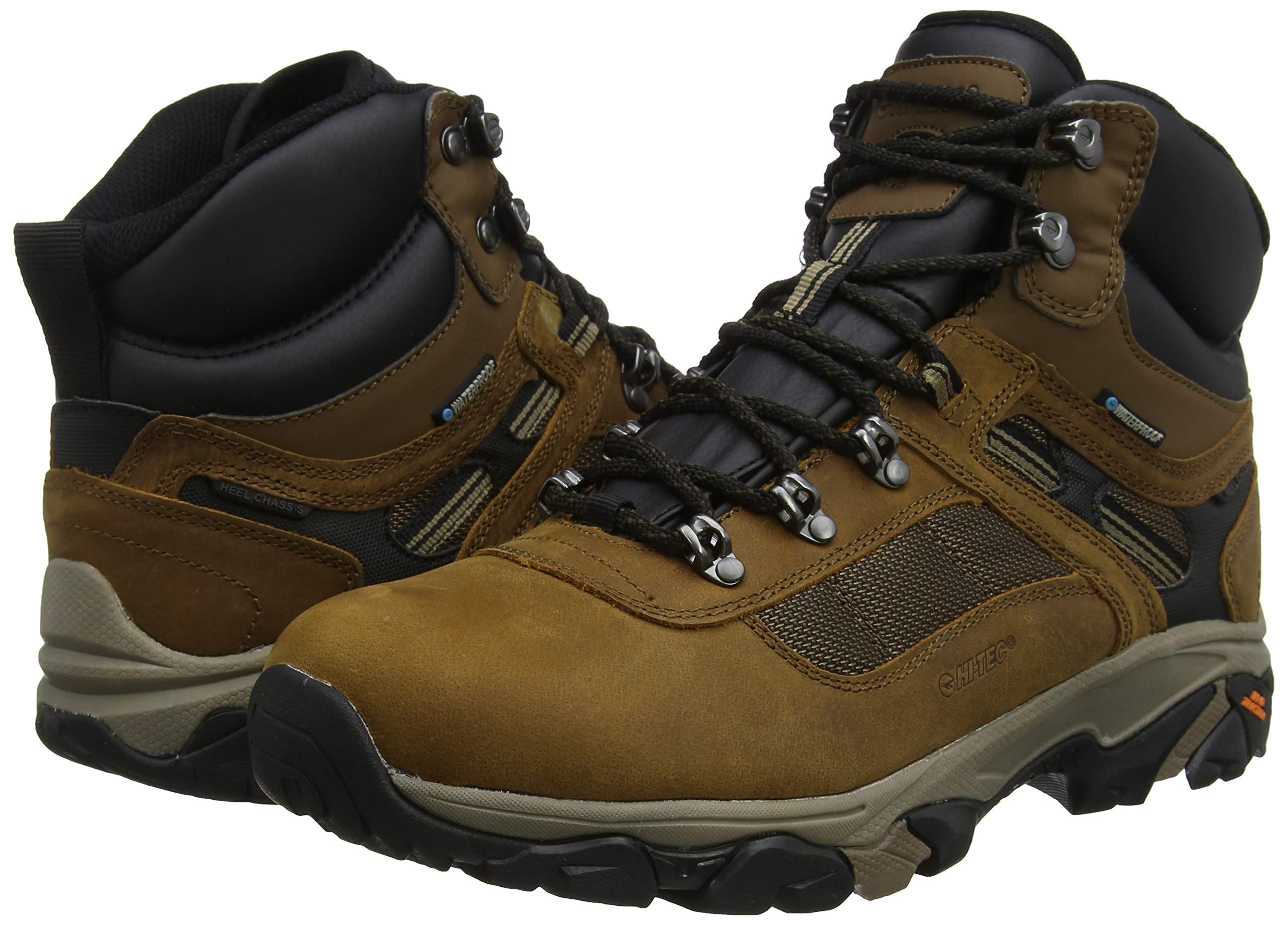 Hi-Tec Men's Ravus Quest Lux Mid Wp High Rise Hiking Boots 5