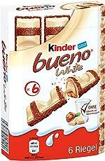 Kinder bueno white 1er Pack (6 Riegel, 117g)