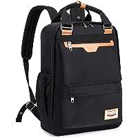 Myhozee Laptop Backpack Handbag Women Mens, Water-Resistant 15.6 Computer Backpack School Bag for Travel/Work/College…