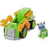 Paw Patrol, Veicolo Deluxe di Mighty Pups Super Paws Rocky, con Luci e Suoni, dai 3 Anni - 6054652