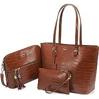 LOVEVOOK Handtasche damen shopper Damen Groß Schultertasche Umhängetasche Damen Tasche für Büro Einkauf Reise Synthetik…