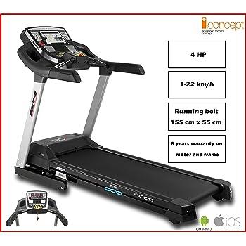 Bh Fitness RC09 Dual WG6180, Tapis Roulant Elettrico Pieghevole