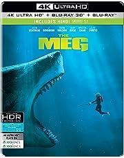 The Meg (Steelbook) (4K UHD + Blu-ray 3D + Blu-ray) (3-Disc)
