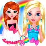 Alesia et Violetta s'habillent