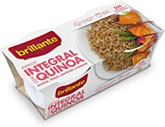 Brillante Arroz Integral con Quinoa, Avena, Trigo, Centeno y Cebada, Pack de 2 x 125g