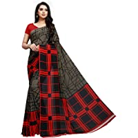 Vaamsi georgette with blouse piece Saree (PC1046_ Multicoloured_ One Size)