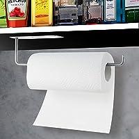 Hocerlu Porte Sopalin, Porte Rouleau Papier Cuisine, Support Essuie Tout Mural ou Auto-Adhésif, avec Colle Adhésive Et…