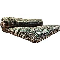 ATOOTFUSION Soft Cotton Medium Mattress Multicolor for Single Bed (3x6 ft ; 3X6 Mattress)