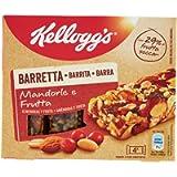 Kellogg's Barretta Mandorle e Frutta, 4 x 32g