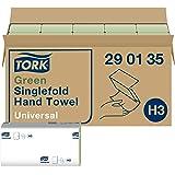 Tork grüne Zickzack Papierhandtücher Universal 290135 - H3 Falthandtücher für Papierhandtuchspender - 1-lagig, grün - 20…