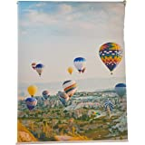 3D Roller Curtain Zeppelin 150 * 200 cm, Hks0025, Multi Color, Mixed Material