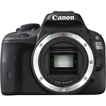 Canon EOS 100D Digital SLR Camera Body Only - (18MP, CMOS Sensor) 3 inch LCD
