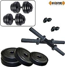KORE K-PVC-DM-DRB COMBO16 (4 Kg - 26 Kg) Dumbbells Kits