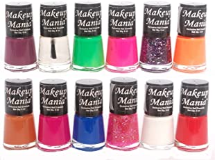 Makeup Mania Daily Wear Nail Polish Combo in 12 Classy Nail Paint Enamel Shades (Multicolor No.77)