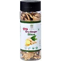 Arya Farm Certified Organic Edible Dry Ginger Slice ( Sabut Saunth / Chukku / Sukha Adrak ) , 50g ( Produced Without…