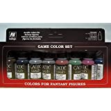 Vallejo Game Color Set, 8 x 17 ml, Flerfärgad