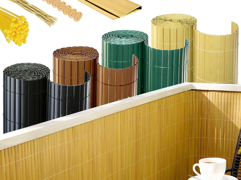 Amazon BOOGARDI PVC Sichtschutzmatte Moderne