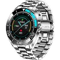 Smartwatch da Uomo LIGE, IP67 Impermeabile Fitness Tracker Orologi Frequenza Cardiaca Ossigeno Nel Sangue Monitor Della…