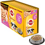Pedigree Puppy Chicken Chunks Gravy Pouches - Pack of 15