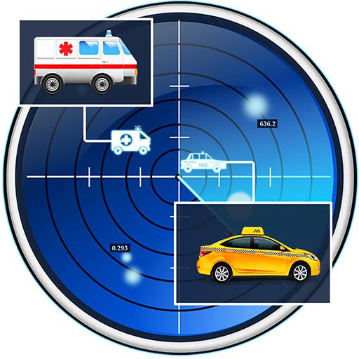 Radar Scanner Car Joke (Police Scanner Car)