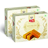 Lal Sweets Mysore Pak (400 g) -Pack of 2