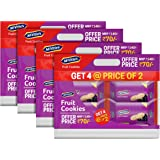 McVitie's Fruit Cookies with Goodness of Blackcurrant, 300g (Buy 2 Get 2 Free) (Pack of 4)