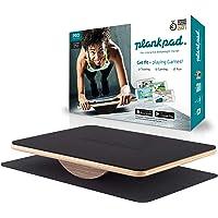 Plankpad PRO – interaktiver Ganzkörper-Trainer & Balance Board - Plank Bauchmuskel Trainer inkl. Smartphone-App mit…