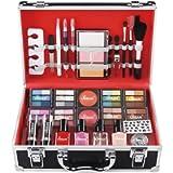 Love Urban Beauty - Divine Beauty French Manicure 76 Piece Makeup Box Gift Set - Eyeshadows Highlighter Lipstick Blush…
