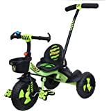Luusa RX-500 Kids / Baby Tricycle with Parental Control , Cushion seat and seat Belt for 12 Months to 48 Months Boys / Girls
