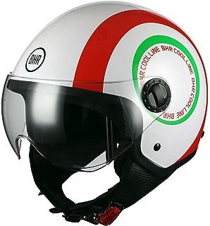 Bhr 53710 Motorrad Helm Demi Jet Line One 801 Schwarz L Auto