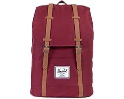 Herschel Retreat Backpack, Windsor Wine, Classic 19.5L, Retreat Backpack