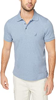Nautica Men's Classic Fit Short Sleeve Solid Soft Polo Shirt